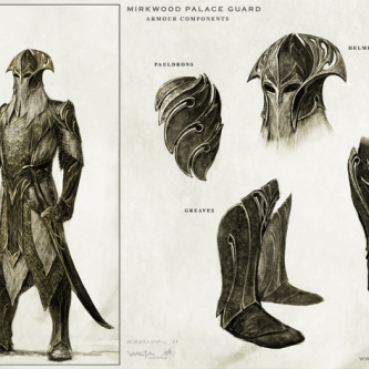 Des concept arts pour Le Hobbit : la Désolation de Smaug