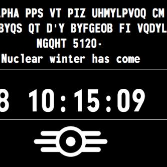 Le site teaser de Fallout 4 se met à jour