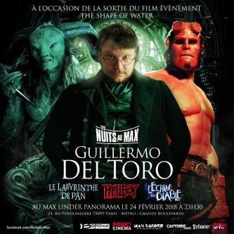 Les Nuits au Max rendront hommage à Guillermo del Toro en février