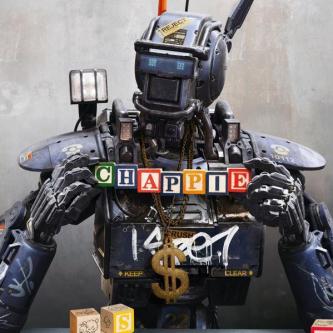 Un premier poster pour Chappie de Neill Blomkamp