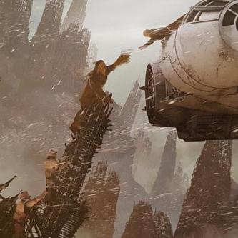 Star Wars : des concepts arts de Solo dévoilent des scènes alternatives et supprimées