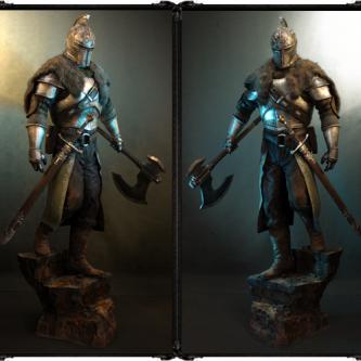 Un statue taille réelle Dark Souls II à gagner