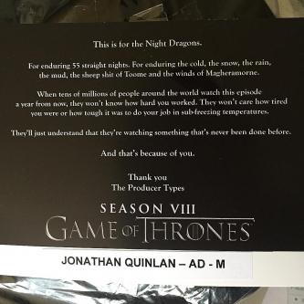 Game of Thrones : 55 jours de tournage pour la bataille finale