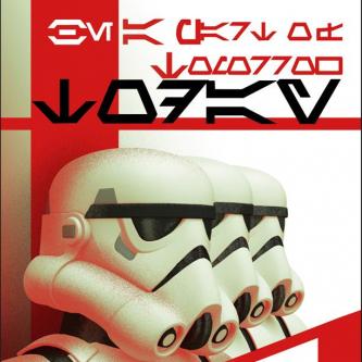 Une affiche de propagande pour Star Wars Rebels