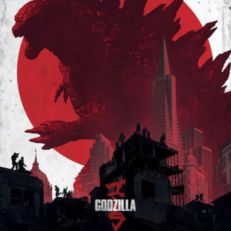 L'affiche IMAX de Godzilla