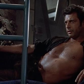 Jeff Goldblum explique pourquoi il était torse nu dans Jurassic Park