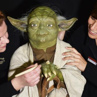 Madame Tussauds dévoile une statue de cire pour Yoda