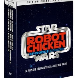Un coffret DVD pour Robot Chicken : Star Wars Special