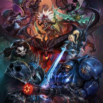 Un premier artwork pour le MOBA de Blizzard