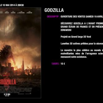 Une avant-première au Grand Rex avec Gareth Edwards pour Godzilla