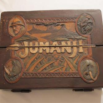 Le véritable jeu Jumanji mis en vente aux enchères