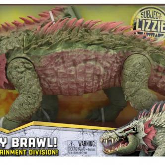 Des jouets Rampage dévoilent clairement le design des monstres géants