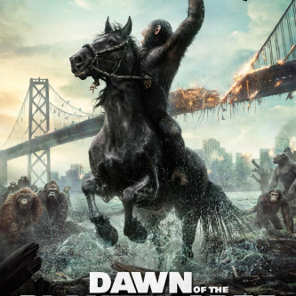 Une nouvelle affiche pour Dawn of the Planets of the Apes