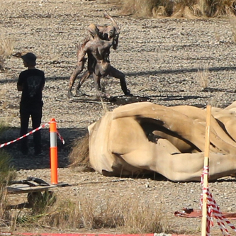 De premières images de tournage pour Alien : Covenant