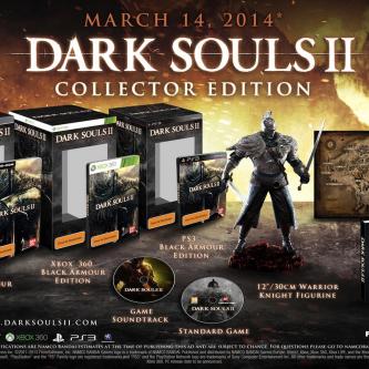 TGS 2013 : Un trailer et un collector pour Dark Souls II