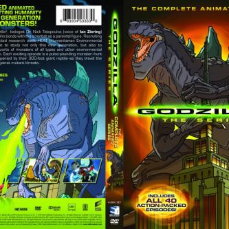 Un coffret intégral pour le dessin animé Godzilla