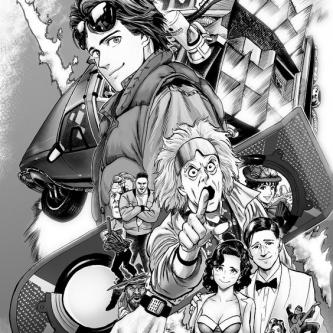 Yusuke Murata (One Punch Man) lance un manga adapté de Retour Vers le Futur