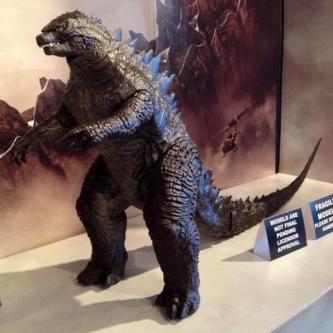 Un énième aperçu de Godzilla en jouet