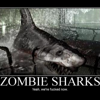 Un trailer délirant pour Zombie Shark