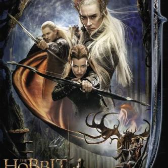 Une bannière elfique pour la Désolation de Smaug