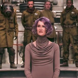 Star Wars : une nouvelle image du personnage de Laura Dern dans Les Derniers Jedi