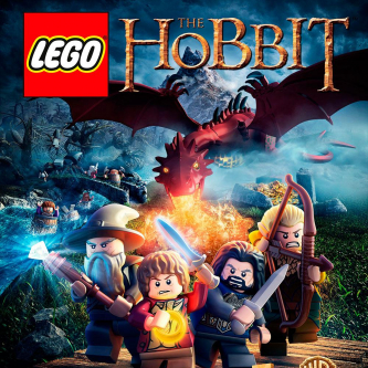 Une jaquette pour le jeu LEGO The Hobbit