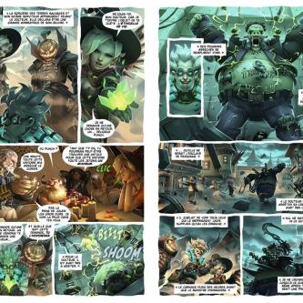 Mana Books et Blizzard annoncent un artbook et une BD Overwatch