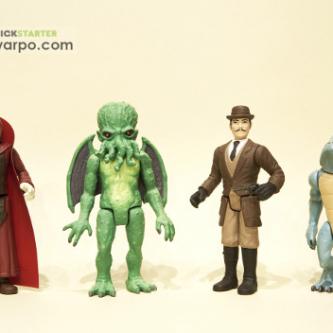 Une série de Toys vintage basée sur H.P. Lovecraft