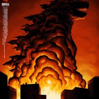 Un poster Mondo pour Godzilla