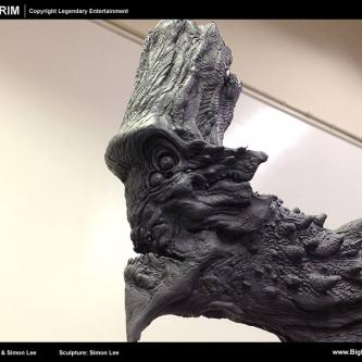 Un concept art de Guillermo Del Toro en pilote de Jeager