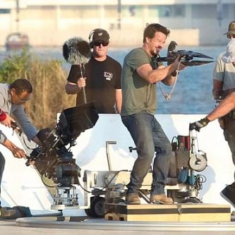 Des images du tournage de Transformers : L'Age de l'Extinction