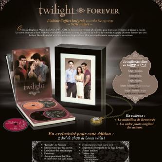 """Un coffret collector """"Intégrale"""" pour Twilight"""