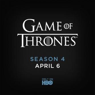 La Saison 4 de Game of Thrones se trouve une date de diffusion
