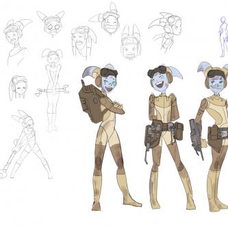 De nouveaux concept-arts pour Star Wars Rebels