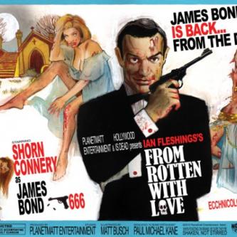 28 affiches de films cultes Zombifiées