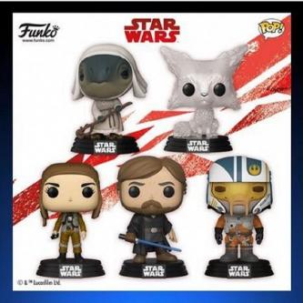 Star Wars : Les Derniers Jedi fait le plein de nouvelles Pop