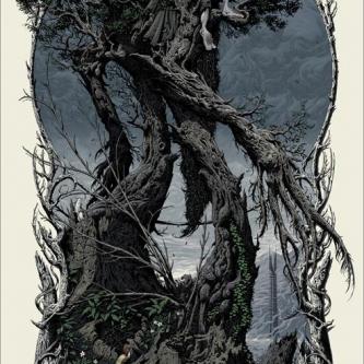 Mondo dévoile un poster magnifique pour Les Deux Tours