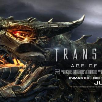 Une nouvelle bannière pour Transformers : L'Âge de l'Extinction