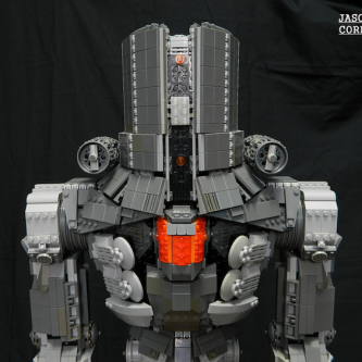 Un superbe MOC LEGO Pacific Rim