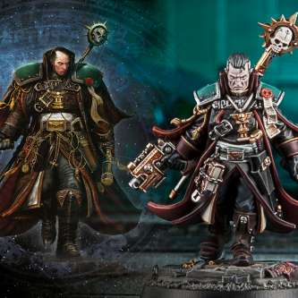 Warhammer 40.000 s'offre une figurine d'Eisenhorn pour fêter les 20 ans de Black Library