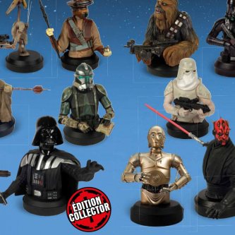 Altaya annonce sa collection de bustes Star Wars