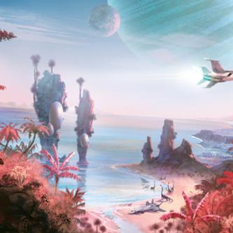 Une tonne d'artworks pour No Man's Sky