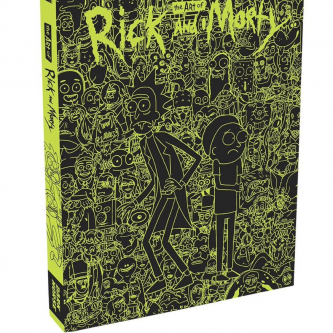 Dark Horse dévoile son art book consacré à Rick and Morty