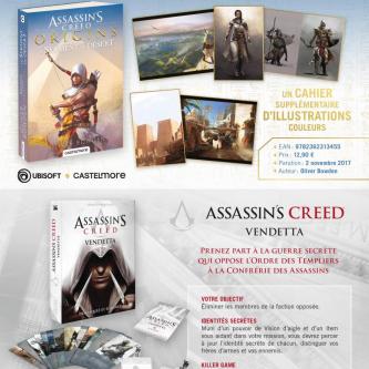 Bragelonne surfe sur la sortie d'Assassin's Creed : Origins