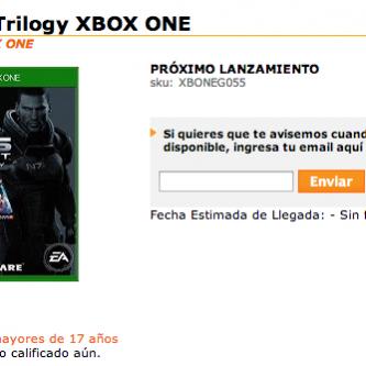 Le portage PS4 et Xbox One de Mass Effect en approche ?