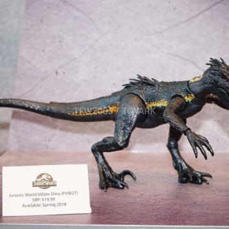 Fallen Kingdom : les jouets Jurassic World donnent un aperçu du design d'un nouvel hybride