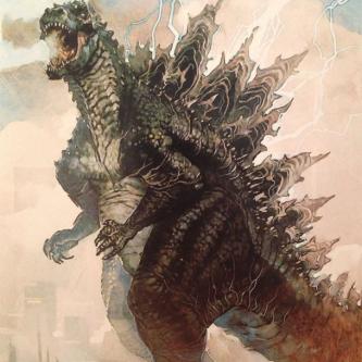 Des concepts arts pour Godzilla