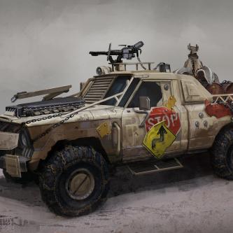 Découvrez l'incroyable concept-artist Darren Bartley