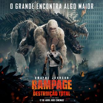 Rampage se montre dans un nouveau poster dédié aux sorties internationales