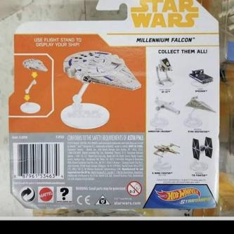 Solo : les jouets Hotwheels dévoilent deux nouveaux vaisseaux